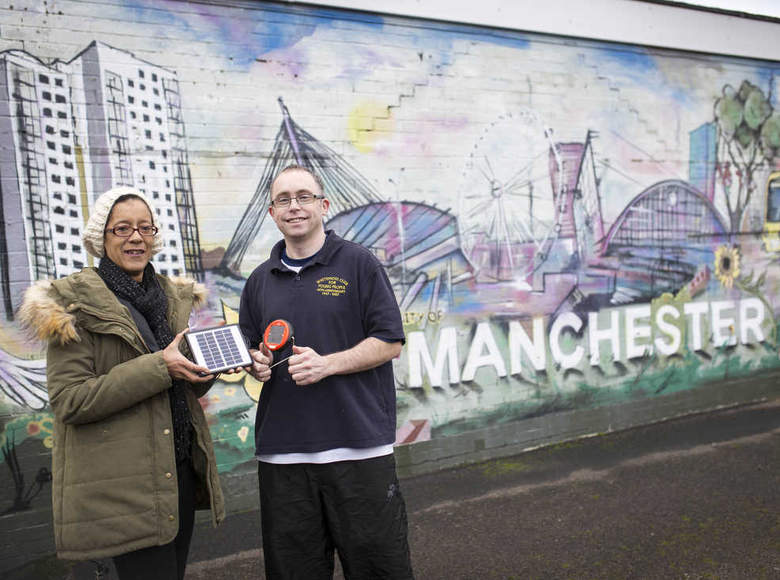 Whitemoss Youth club and community centre with volunteers Beverley Drummond and Johnny Biggs. Photo by Chris Bull