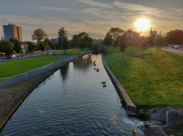 Miles Platting - Rochdale Canal - photo credit Friends of Miles Platting Canal